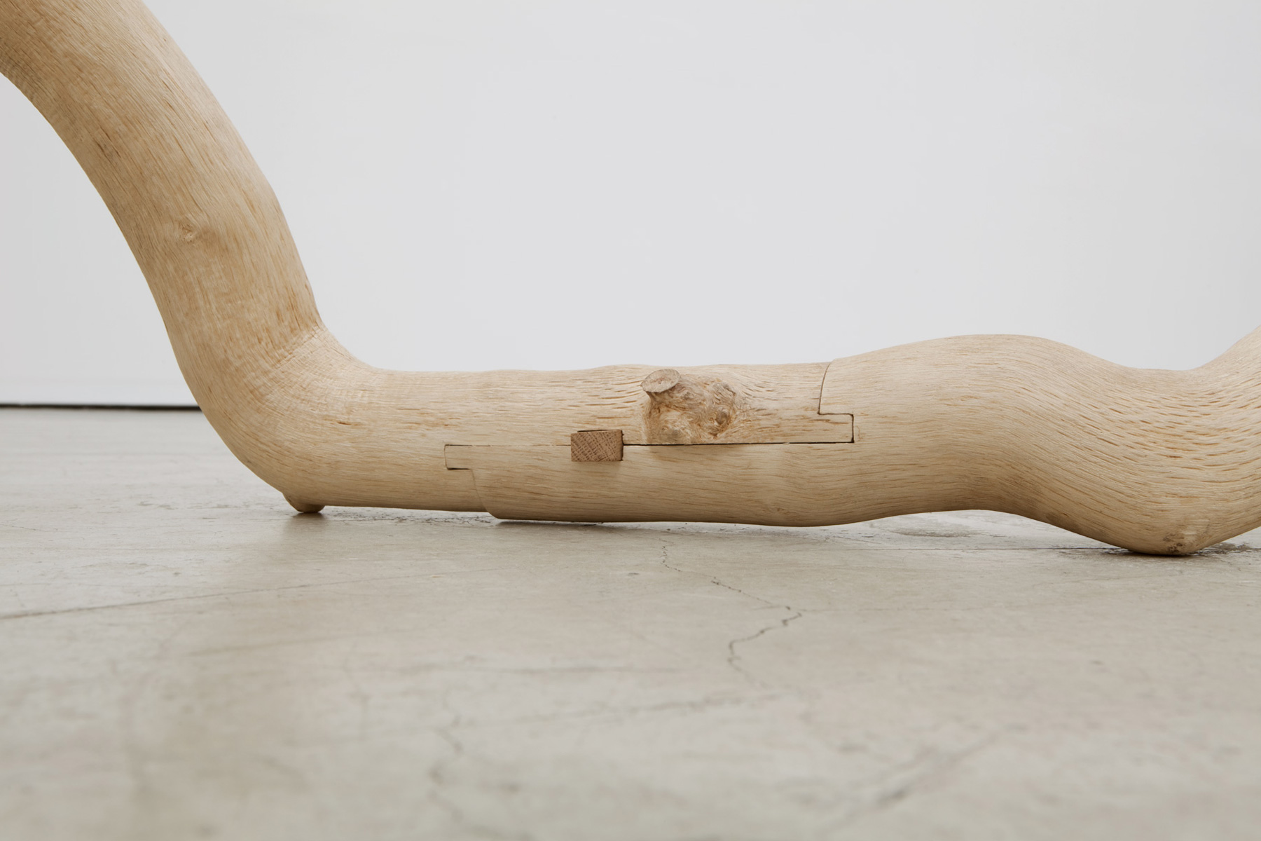 Alastair Mackie|Untitled (oak)|2013|oak|wood|tree|sculpture