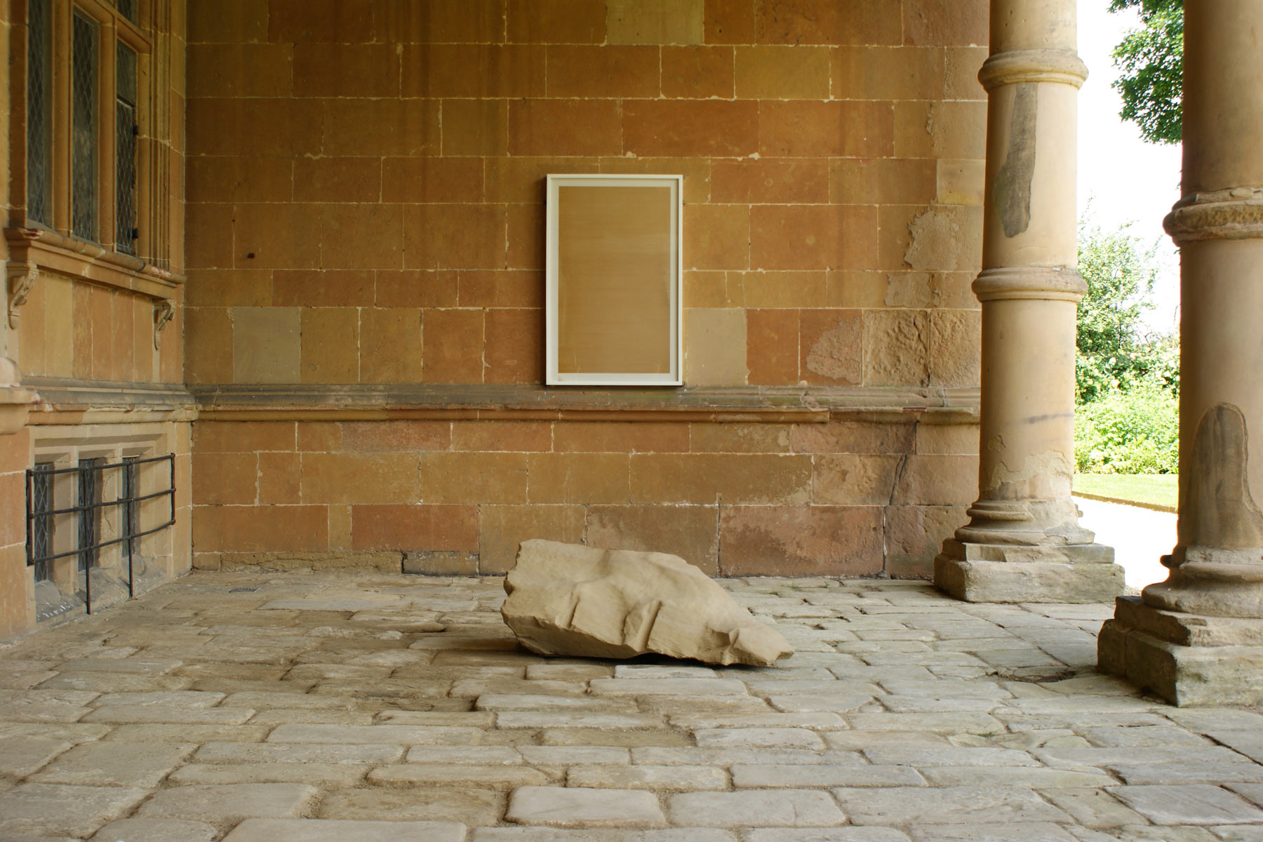 Alastair Mackie|Epitaph|2014|Meadow Arts|National Trust|Hardwick Hall|sculpture|installation